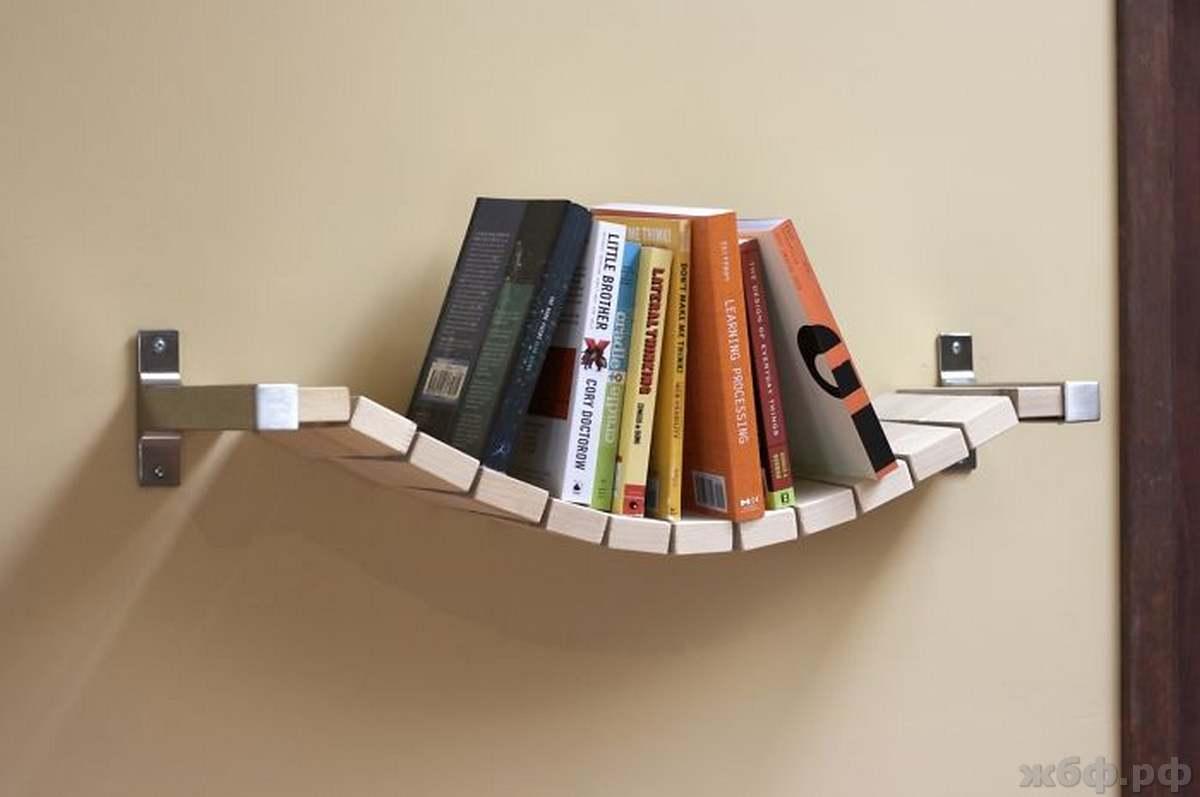 Креативные книжные полки: 40 потрясающих идей.