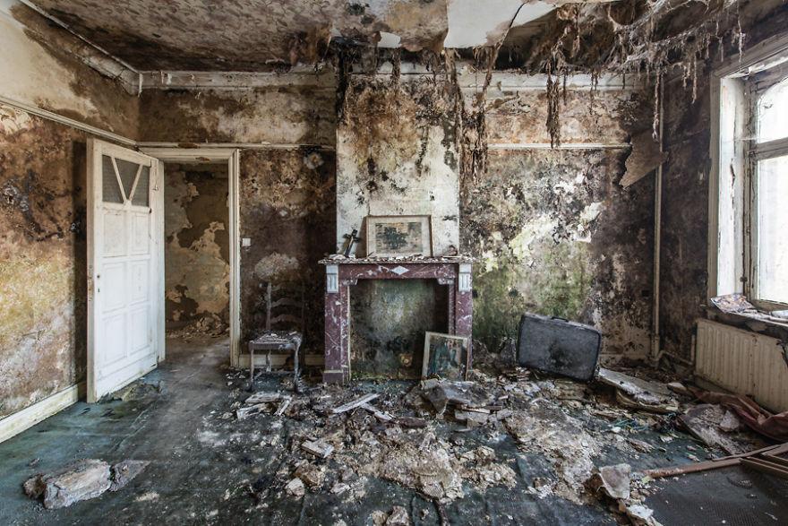 Фото на заброшенных домах
